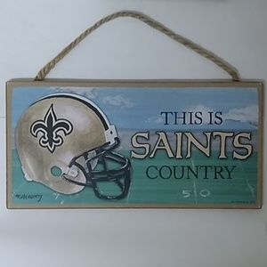 Other - SAINTS Wooden Sign